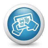 Automotive web site — Stock Vector