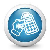 Pos credit card — Stock Vector