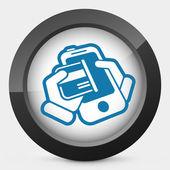 Phone card — Stock Vector