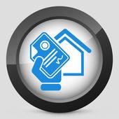 Home document icon — Stock Vector