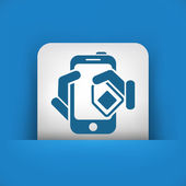 Phone card icon — Stock Vector