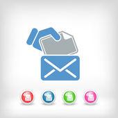Concetto di posta — Vettoriale Stock