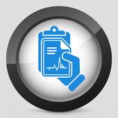 Cardiac examination — Stock Vector