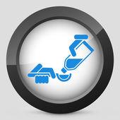 Dose syrup icon — Stock Vector