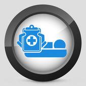 Hospital room — Stock Vector