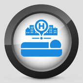 Hospital icon — Stock Vector