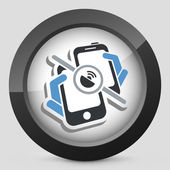 Mobile connection icon — Stock Vector