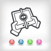 File transfer — Stock Vector