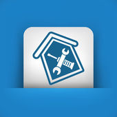 House repair — Stock Vector