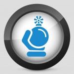 Bomb icon — Stock Vector