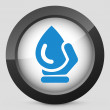Water drop — Vector de stock