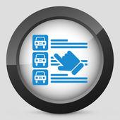 Car list selection — Stock Vector