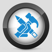 Work tools icon — Stockvektor
