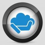 Cloud computing — Stockvektor