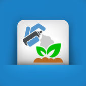 Plant care — Vector de stock