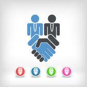 Enterprise agreement — Stok Vektör