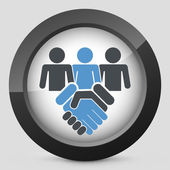 People agreement — Vettoriale Stock