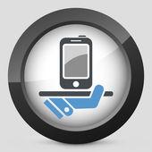 Serviço de smartphone — Vetorial Stock