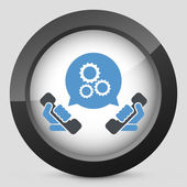 Technical assistance icon — Wektor stockowy