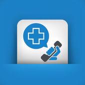 Emergency call contact — Stock Vector