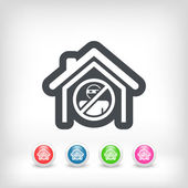 House protection icon — Stock Vector