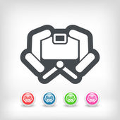 Camera icon concept — Stock Vector