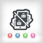 Web message icon — Stock Vector