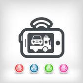 Auto mobile pomoc — Wektor stockowy