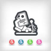 Car crash insurance — Stock Vector