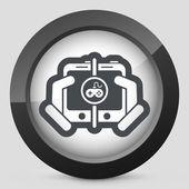 Online game — Stock Vector