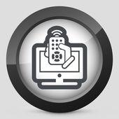 Tv remote controller — Stock Vector