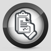 Contract icon — Stock Vector