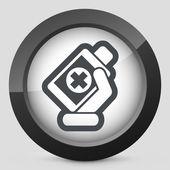Medical bottle — Stock Vector
