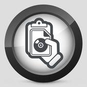 Document file icon — Stock Vector