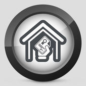 Home certificate — Stock Vector