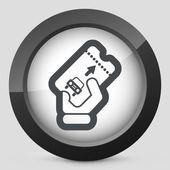 Park card icon — Stock Vector