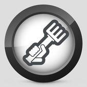 Rake icon — Stock Vector