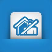 Thief security icon — Stock Vector