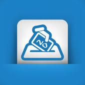 Vote concept icon — Stock Vector