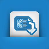 Test document — Stock Vector