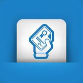 Certificate document icon — Stock Vector