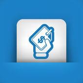 Label price — Stock Vector