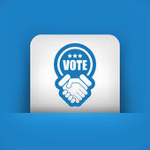 Agreement for votes — Stock Vector