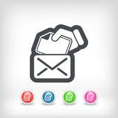 Notion de courrier — Vecteur
