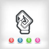 Mark choice icon — Stock Vector
