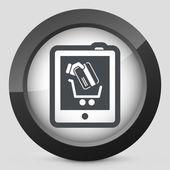 Web store icon — Stock Vector