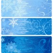 Royalty-Free Stock Vector Image: Winter Banners