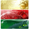 Christmas Banners — Stock Vector #12734988