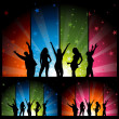 Stock Vector: Dance Party - Night Club Life