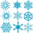 Snowflake Set — Stock Vector #14834685